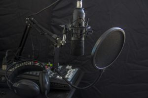 Microphone and audio equipment